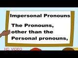 impersonalpronouns