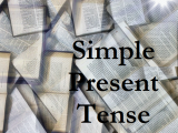 simple present tense verbal
